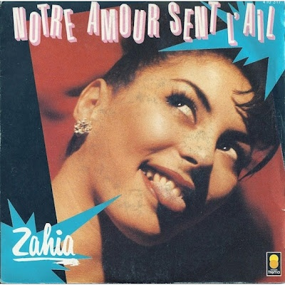 Zahia - Notre amour sent l'ail.  Infectiously giggly eighties Franco-funk.  I don't know what happened to Zahia but I quite fancy her.  Listen: http://www.divshare.com/download/16906218-c81
