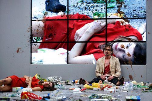 """theatergesehen: """"Moliere's The Misanthrope, Schaubuehne Berlin Director: Ivo van Hove """""""