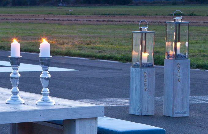 dekoratives Windlichter2er Set für gemütliche Sommerabende » WITTEKIND