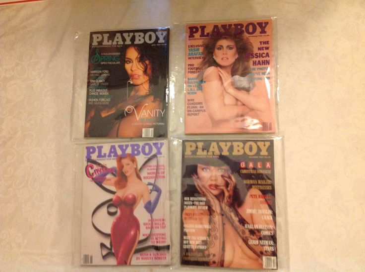 Magazines: 1988 Playboy Magazine 4 Issues Jessica Hahn -> BUY IT NOW ONLY: $10 on eBay!