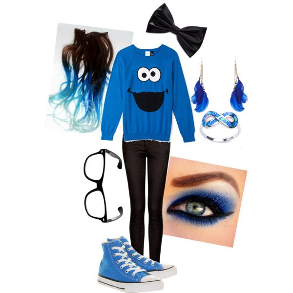 19 Best Cookie Monster Images On Pinterest  sc 1 st  Meningrey : cute cookie monster costume  - Germanpascual.Com
