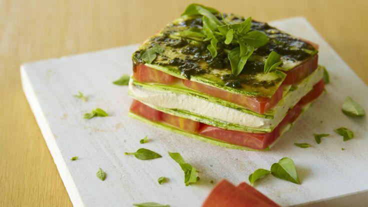 Lasanha também pode ser saudável, é só usar os ingredientes certos!