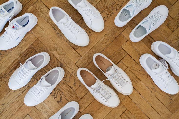 Les 25 meilleures id es de la cat gorie basket blanche homme sur pinterest sneakers blanche - Comment nettoyer des basket blanche ...