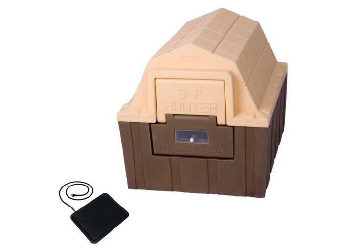 Heated Dog House Insulated Floor Heater Small Dogs Cats Animal Shelter NEW #DPHunter