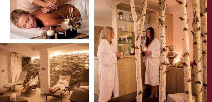 Wellness Armelinda all'interno dell'hotel Gran Zebrù a Cogolo