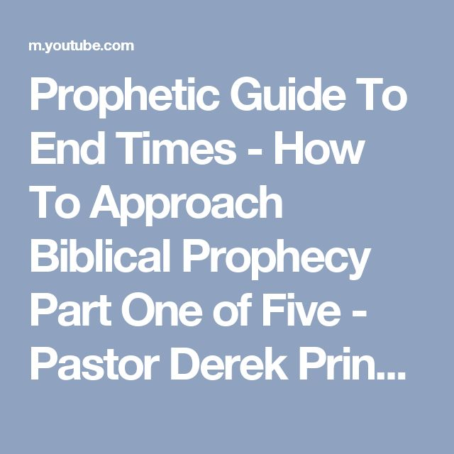 signs of the end times bible prophecy pdf