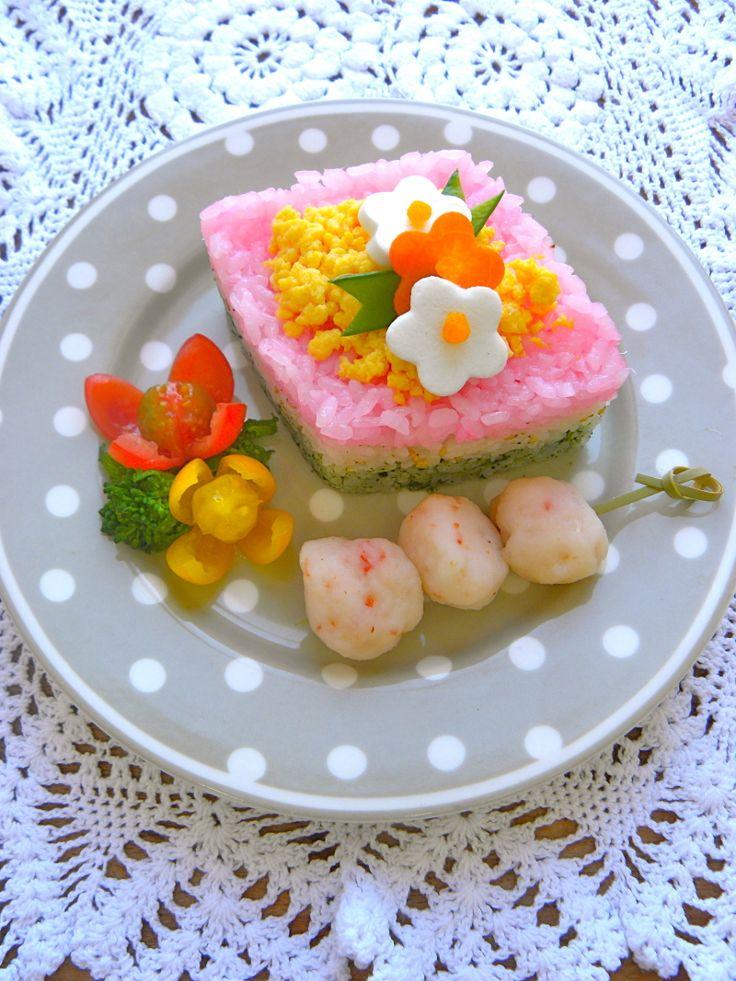 Hina sushi. ひなまつり ひなずし #Sushi #Sushimi