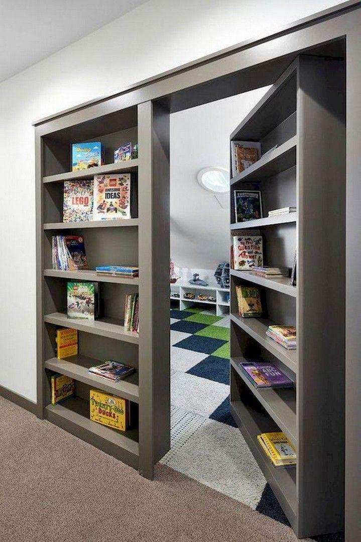 9 Genius Secret Room Design Ideas And Decor 1 A Virtual Zone Secret Rooms In Houses Kids Living Rooms Hidden Rooms