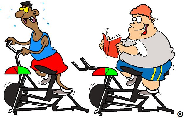 The overweight should exercise less to burn more fat. Read more.