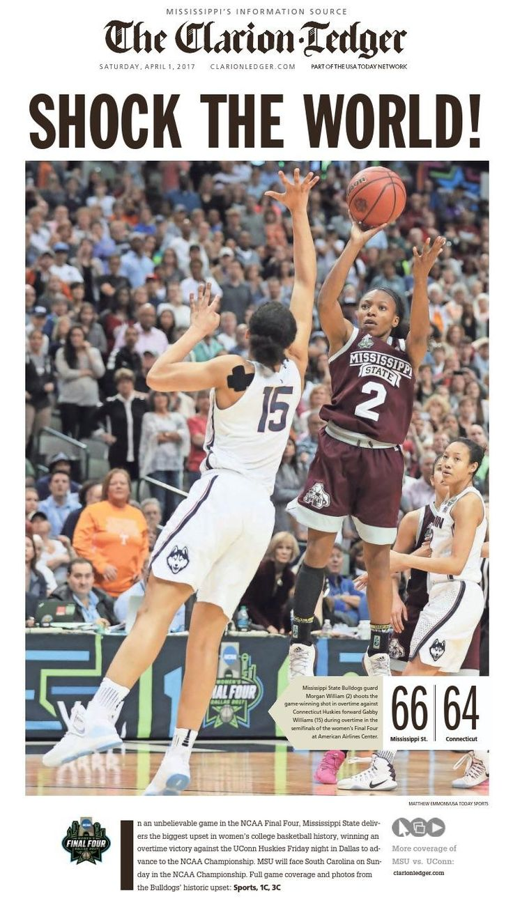 Mississippi State Shocks UConn. 111 Game Win Streak Ended. http://ift.tt/2nL02il Love #sport follow #sports on @cutephonecases