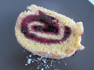 Sweet Roll with Mixed Berries Compote and a Taste of Ginger www.easyitaliancuisine.com