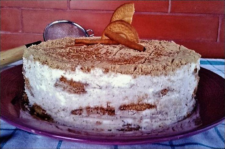 Estoy segura que piensas que esta tarta es tan pesada como un bloque de cemento…
