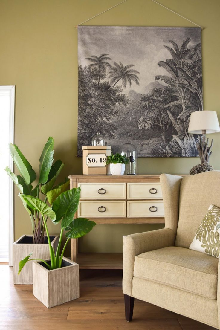 Superb Botanical Style und neue Deko f rs Wohnzimmer mit bert pfen von VIVANNO Dekoideen Deko