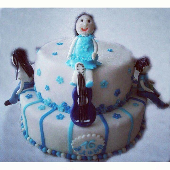 Торт на 16 лет #торт_на_заказ_киев #день_рождения #бисквитный_торт