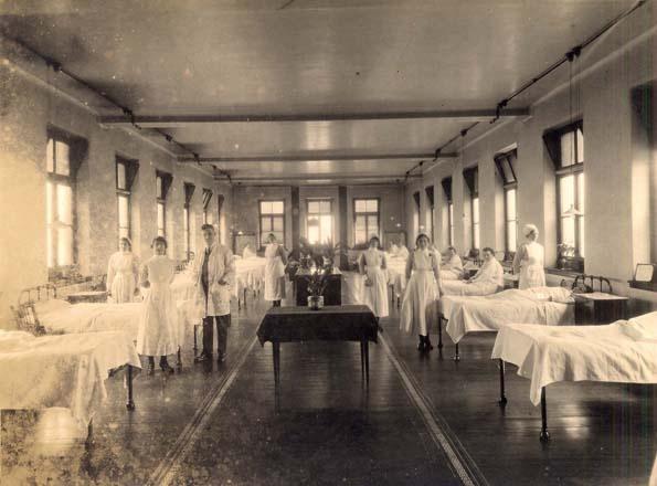 Ward photograph, 1923
