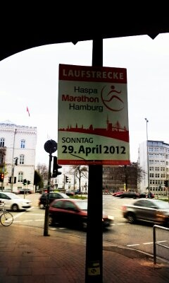 One more week to go till Hamburg Marathon on April 29th. Will be running 15km in the relay-competition with a great team!