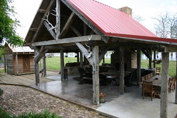 Reclaimed Timber Beams And Posts From Reclaimed Design