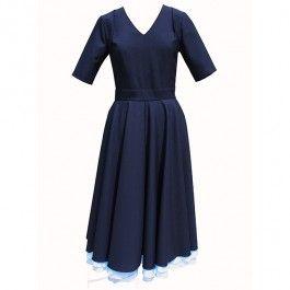 Granatowa sukienka New Look do zamówienia w dowolnym rozmiarze na latkafashion.com