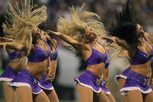Viking Cheerleaders NFL, Superbowl, football season