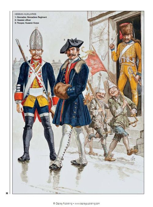a history of the hessian soldiers during the revolutionary war A maryland perspective, journal of the johannes schwalm historical  association, vol 7, no  3 lewis n barton, the revolutionary prisoners of war  in winchester and  translated into german and distributed among the hessian  soldiers.