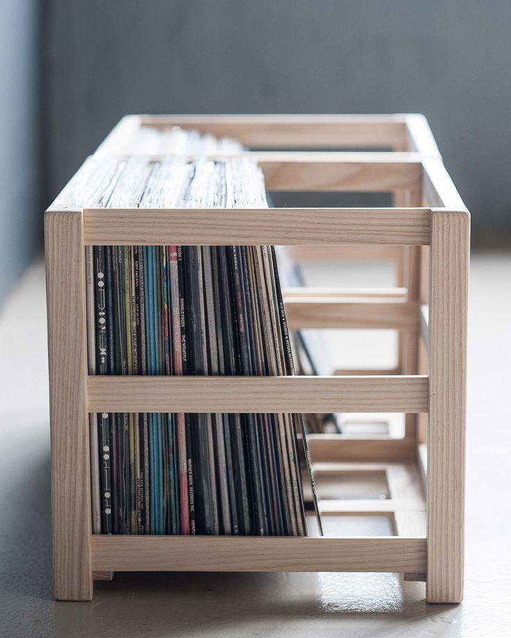 record crate vinyl