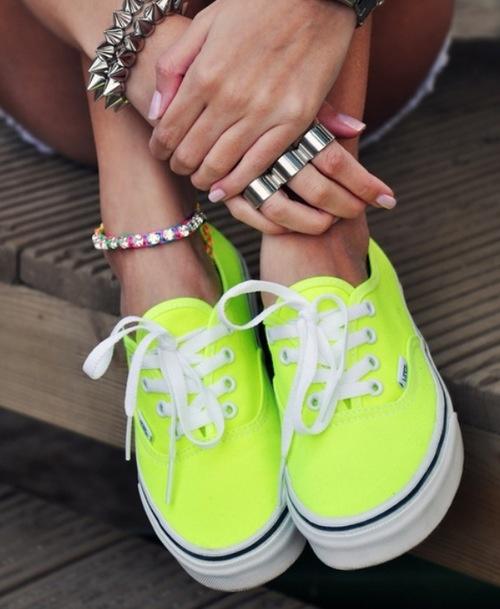 #vans #jaune #fluo #legging #leggingstar