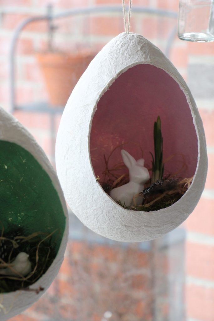 Fensterdeko Ostern Bastelidee
