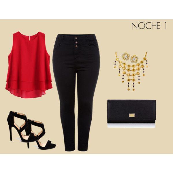 NOCHE 1 by marisol-fernandez-zumba on Polyvore featuring polyvore fashion style Dolce&Gabbana IKI