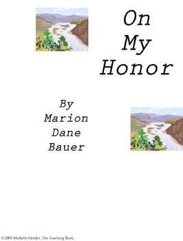 comprehensive analysis of on my honor by marion dane bauer