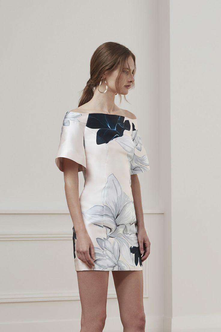 Keepsake Stand Still Mini Dress Floral Print
