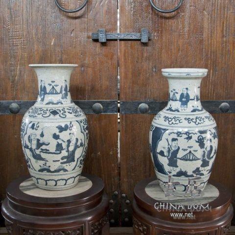 """Китайские вазы, парные """"Юань"""""""