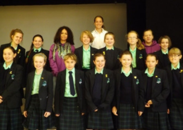 The captain of Team GB's women's football team at the Olympics, Casey Stoney, visited Walton Girls' High School recently.    The Lincoln and England footballer inspired the students at a school assembly, where she gave an insight into her career so far and her Olympic experiences.