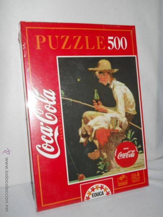 Puzzle Educa de la  Coca Cola   500 piezas