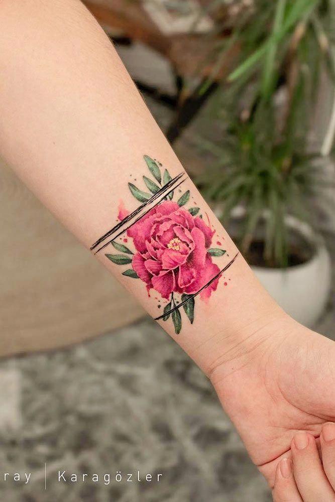 Beautiful Colourful Wrist Tattoo Skin Color Tattoos Colour