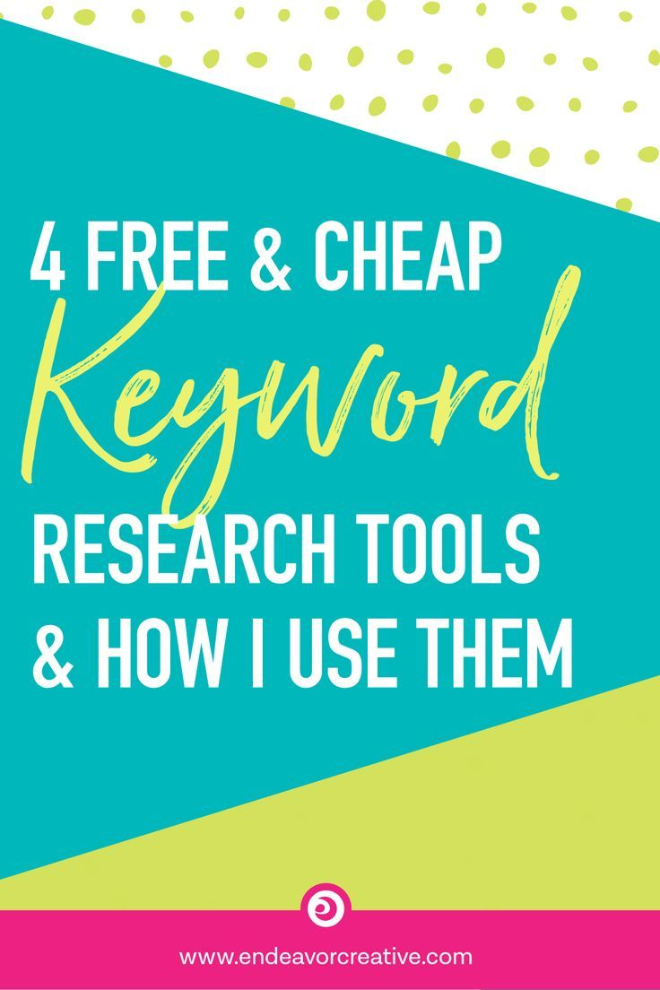4 Free Cheap Keyword Research Tools How I Use Them Blog
