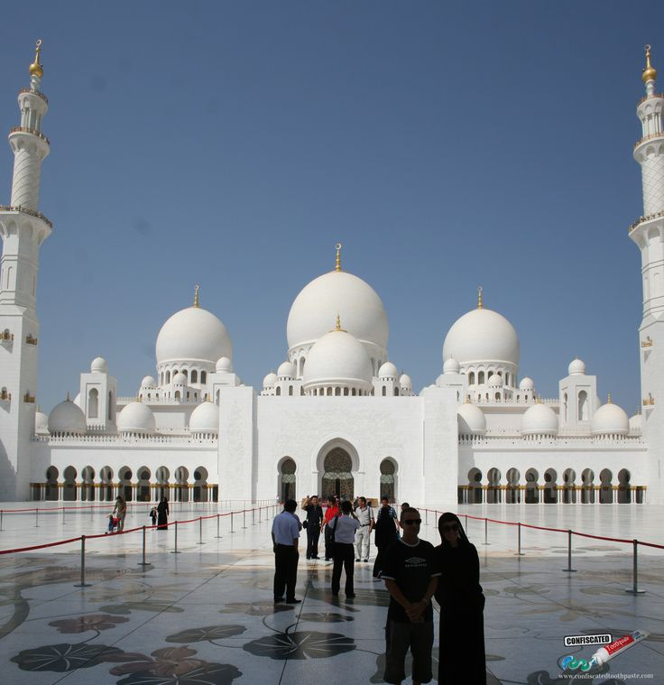 United Arab Emirates. Sheikh Zayed Mosque in Abu Dhabi. All the Countries I Have Visited … Plus Photos http://www.confiscatedtoothpaste.com/all-the-countries-i-have-visited-plus-photos/