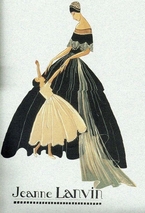 History of Fashion Designers of Large European Fashion - Jeanne Lanvin - Part 1/5