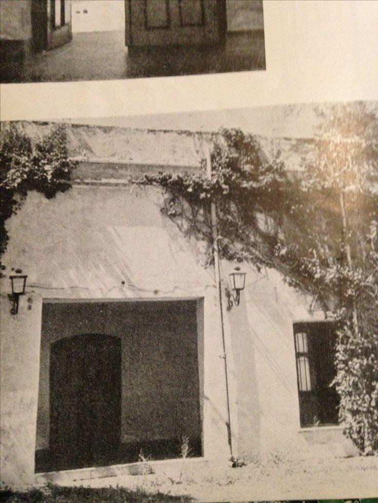 Arquitectura Argentina.  La Quinta Pueyrredon.  Bs. As.  Revista de Arquitectura, de abril de 1943. Vista , desde  el patio interior.