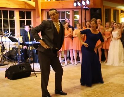 Watch This Epic Mother Son Wedding Dance