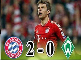 Bayern Munich vs Werder Bremen 2-0 All Goals and Highlights (2017)