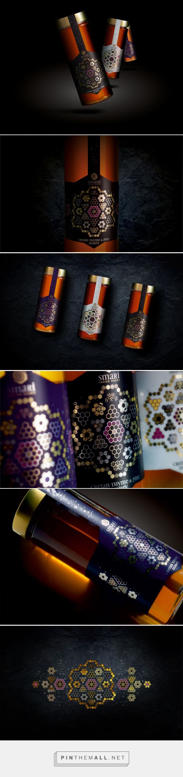 Smari Cretan Honey - Packaging of the World - Creative Package Design Gallery - http://www.packagingoftheworld.com/2018/01/smari-cretan-honey.html