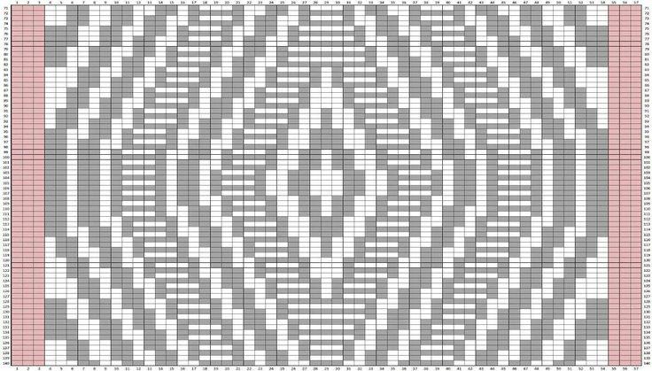 Dekorativ pude med geometrisk mønster. Den er her strikket i akryl, men ville være fin i uld eller uldblandinger. Den er ikke svær, men teksten til mønstret er lang! Der er også diagrammer. Læs mere ...