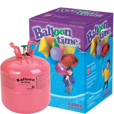 Small Helium Tank - Party City