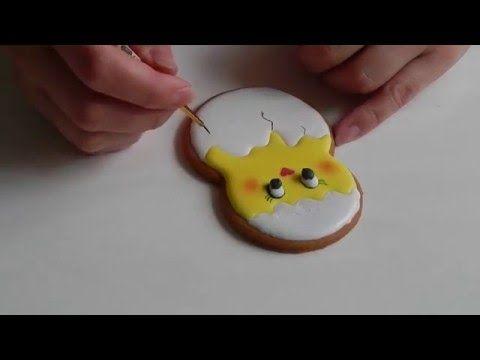 Пряник Пасхальный цыпленок в скорлупе / Easter chick Gingerbread — Яндекс.Видео