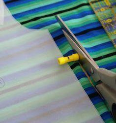 guide de coupe de tissu aimanté
