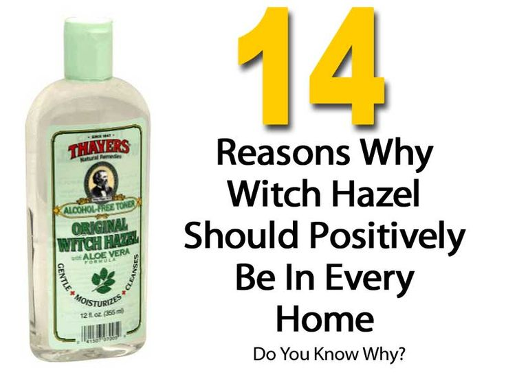 Amazing Witch Hazel - Facial Toner, Make-Up Remover And So Much More.... -