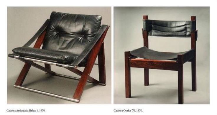 António Garcia - Cadeiras Relax 1 e Osaka `70 - 1970