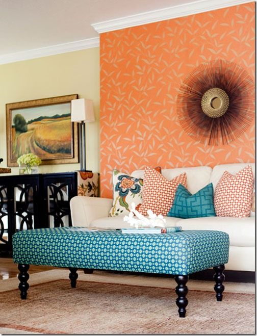 teal and coral bedroom ideas | Turquoise | Restyling Home by Kelly