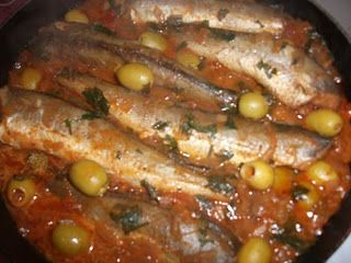 Tajine de poisson aux olives samira tv   Recette Cuisine Samira tv:cuisine algérienne recettes algerienne samiratv