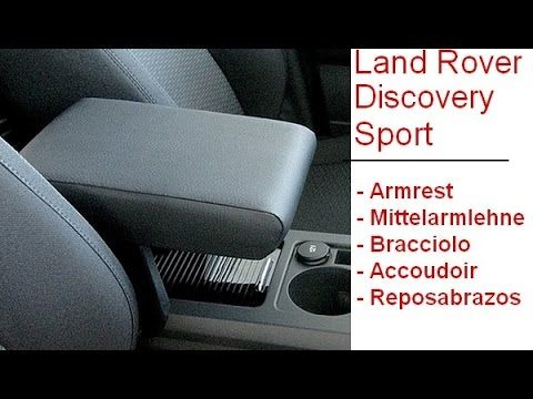 Discovery Sport Land Rover - armrest of the finest quality
